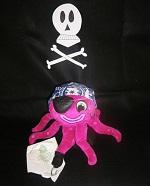 La Jefina disfrazada de pirata