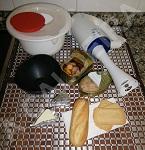 Ingredientes para el paté de atún y mejillones
