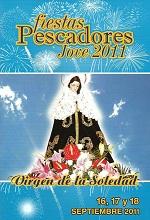 Cartel Fiestas Pescadores 2011